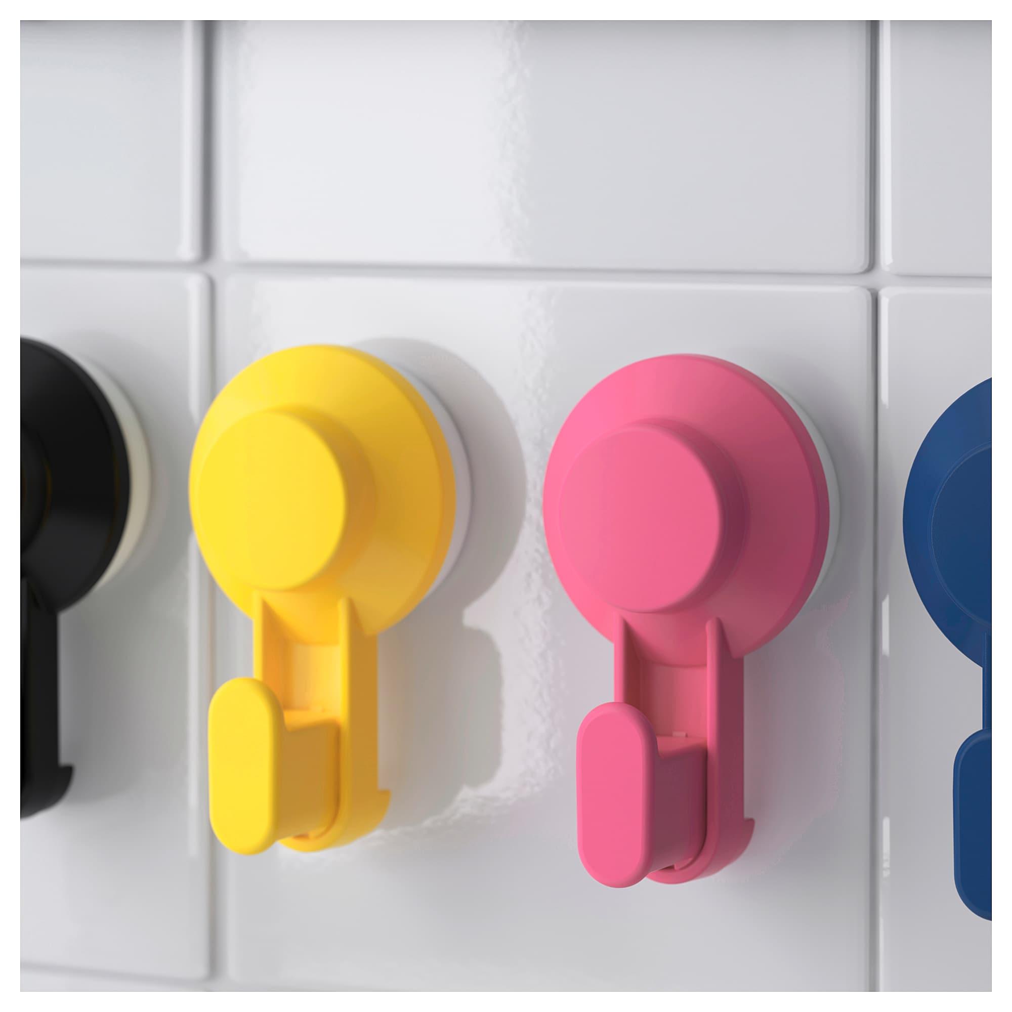 Tisken Haken Mit Saugnapf Versch Farben Haken Handtuchhalter