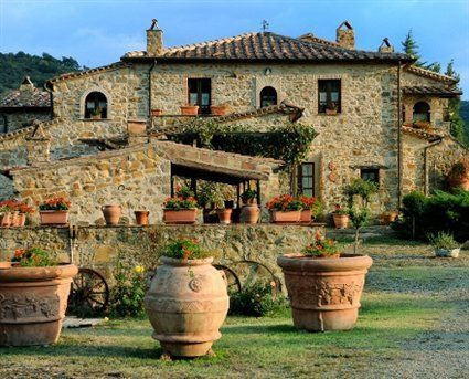 Old Italian Country Houses Classic Italian...