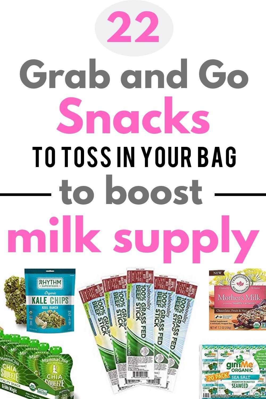 Prepackaged Healthy Breastfeeding Snacks