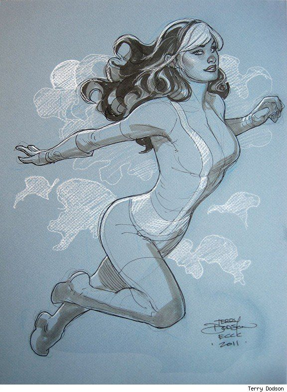 Rogue - Terry Dodson