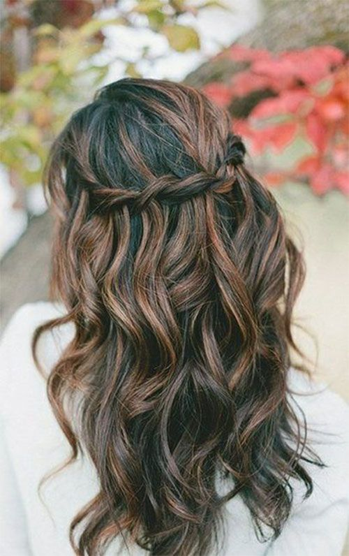 Nice Hair Ideas For Christmas Party Part - 1: Christmas Party Hairstyle