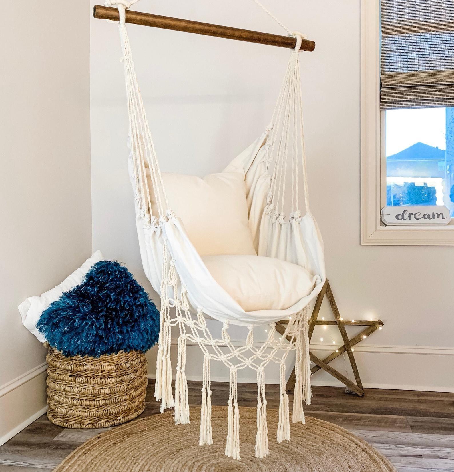 Hammock Swing Chair Macrame Hammock Chair White Hammock