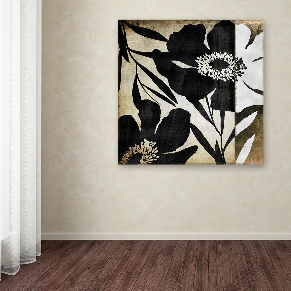 Trademark Fine Art 35 In X 35 In Floral Jungle Lines Ii By Color Bakery Printed Canvas Wall Art Multi In 2020 Canvas Wall Art Diy Art Painting Art Painting