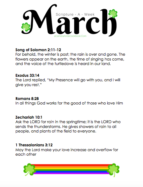 March, A Month In Verse