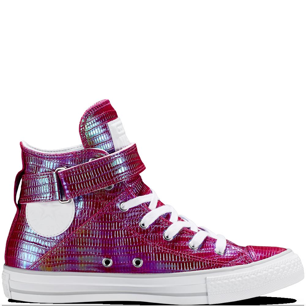 Converse Chuck Taylor All Star Iridescent Brea Pink Sapphire/White/Mouse -  - Cheap Converse Womens High Top