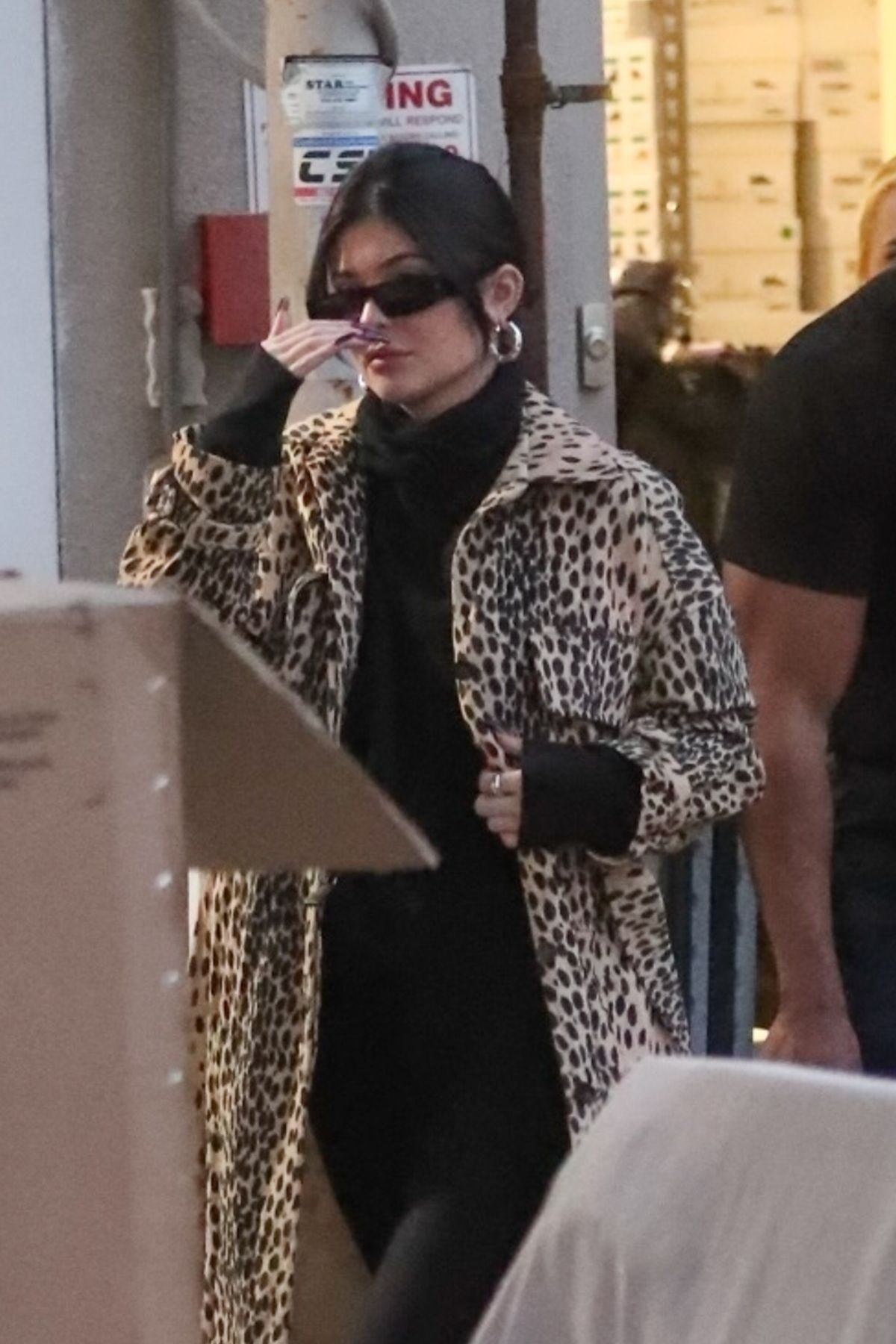 KYLIE JENNER Shopping at Moncler in Beverly Hills
