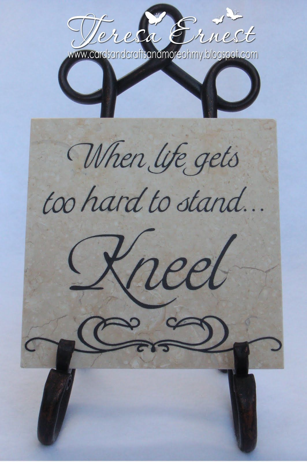 Tilecraftswithvinyl posted by teresa at 1120 am 4 comments ceramic tile crafts dailygadgetfo Images