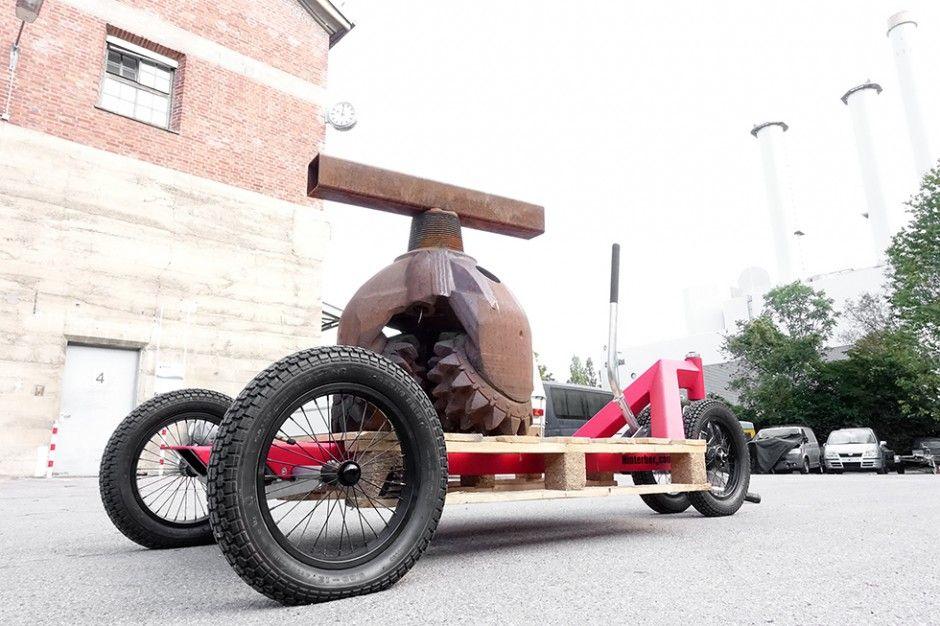 Schwerlast Fahrradanhanger Mit 600 Kg Gewicht Fahrrad Lastenanhanger Fahrradanhanger Fahrrad