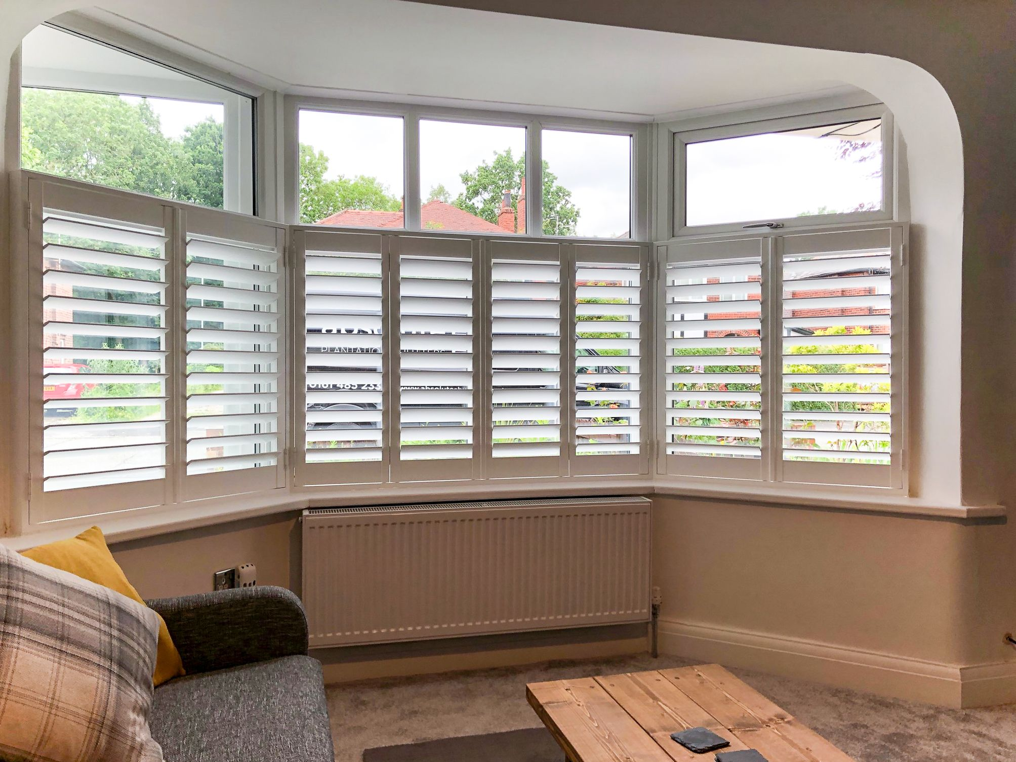 Pin On Windows #shutters #in #living #room