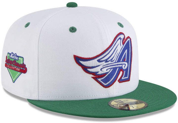 finest selection c6a8b 37a0f New Era Los Angeles Angels Retro Diamond 59FIFTY Fitted Cap