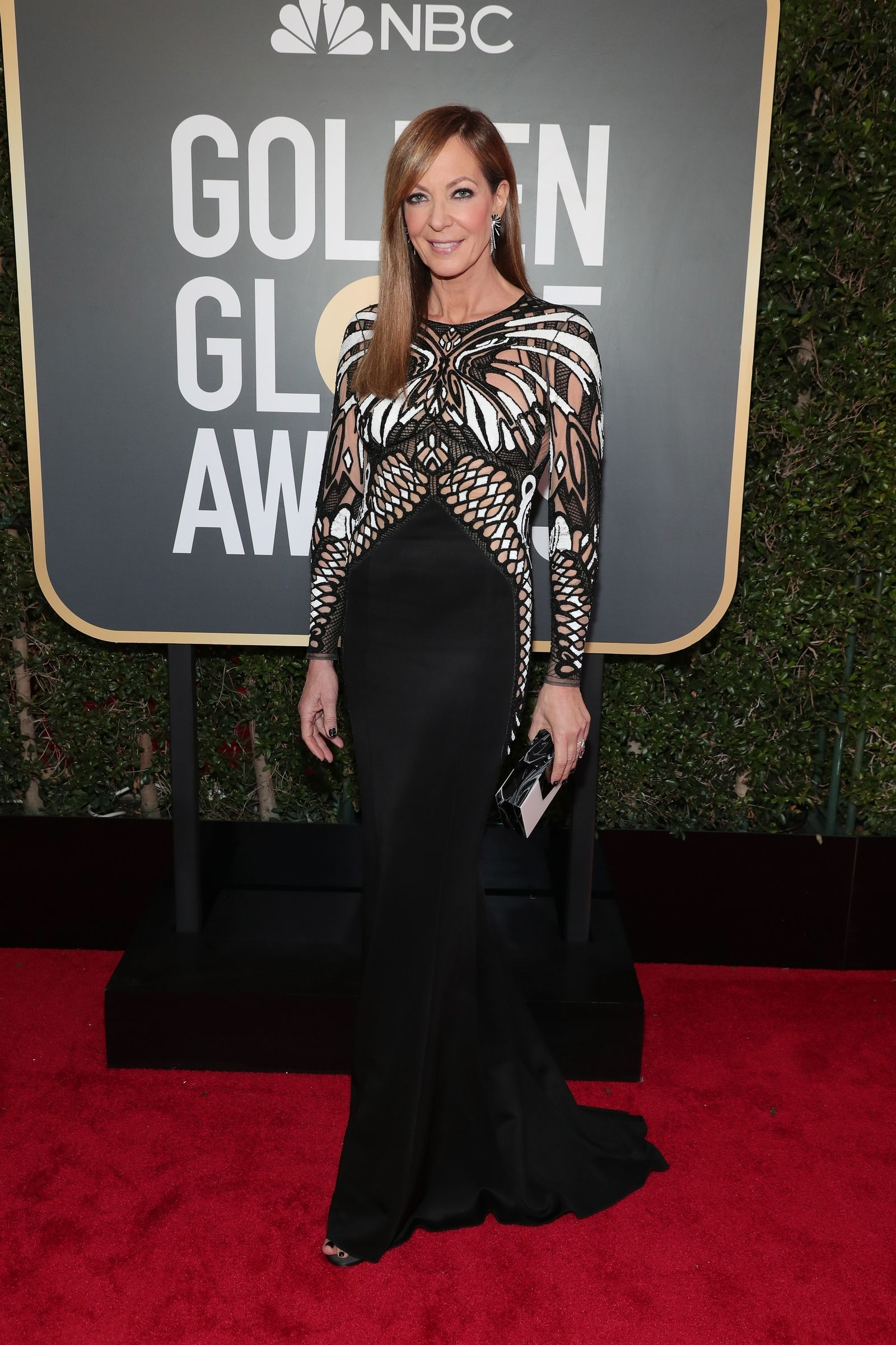 Roter Teppich Golden Globes All The Looks From The 2018 Golden Globes Red Carpet Allison Janney
