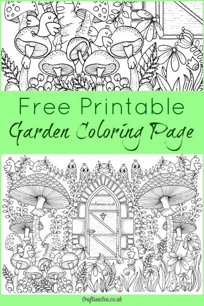 Printable Garden Coloring Pages : printable, garden, coloring, pages, Kleurplaten✏
