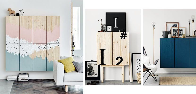 Ivar de ikea un armario vers til con muchas posibilidades - Ikea ivar mobile ...