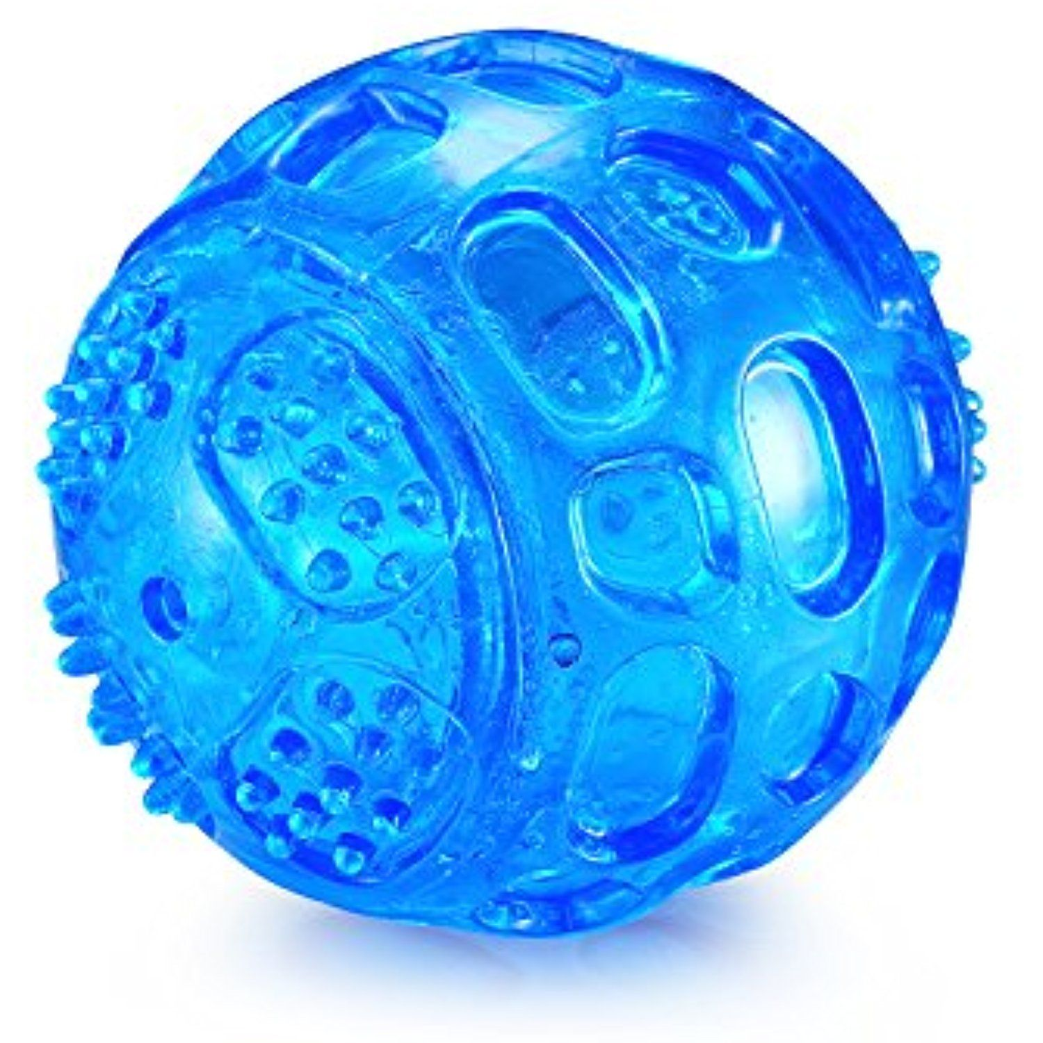 Squeaky Balls Dog Toys Balls Indestructible Tough Rubber Dog