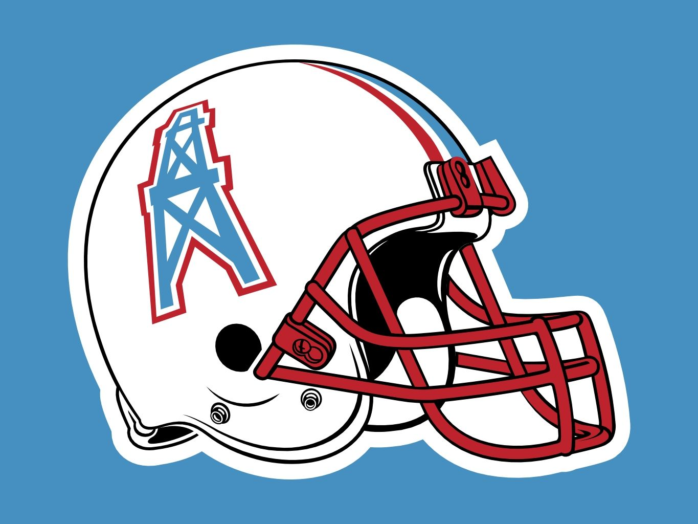Pics photos houston texans logo chris creamer s sports - Houston Oilers Logo On Chris Creamer S Sports Logos Page Sportslogos A Virtual Museum Of Sports Logos Uniforms And Historical Items