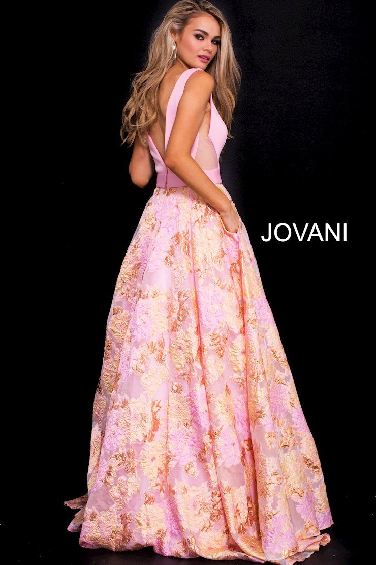 This floral and feminine Jovani style is perfect for a guest of a ...