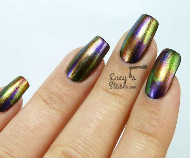 Chameleon Nail Polish 8 Cool Nail Designs To Try Now Water Color