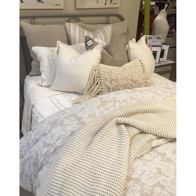 Countless reasons to love this bed...where do we start?! | Layers Beautiful Bedding