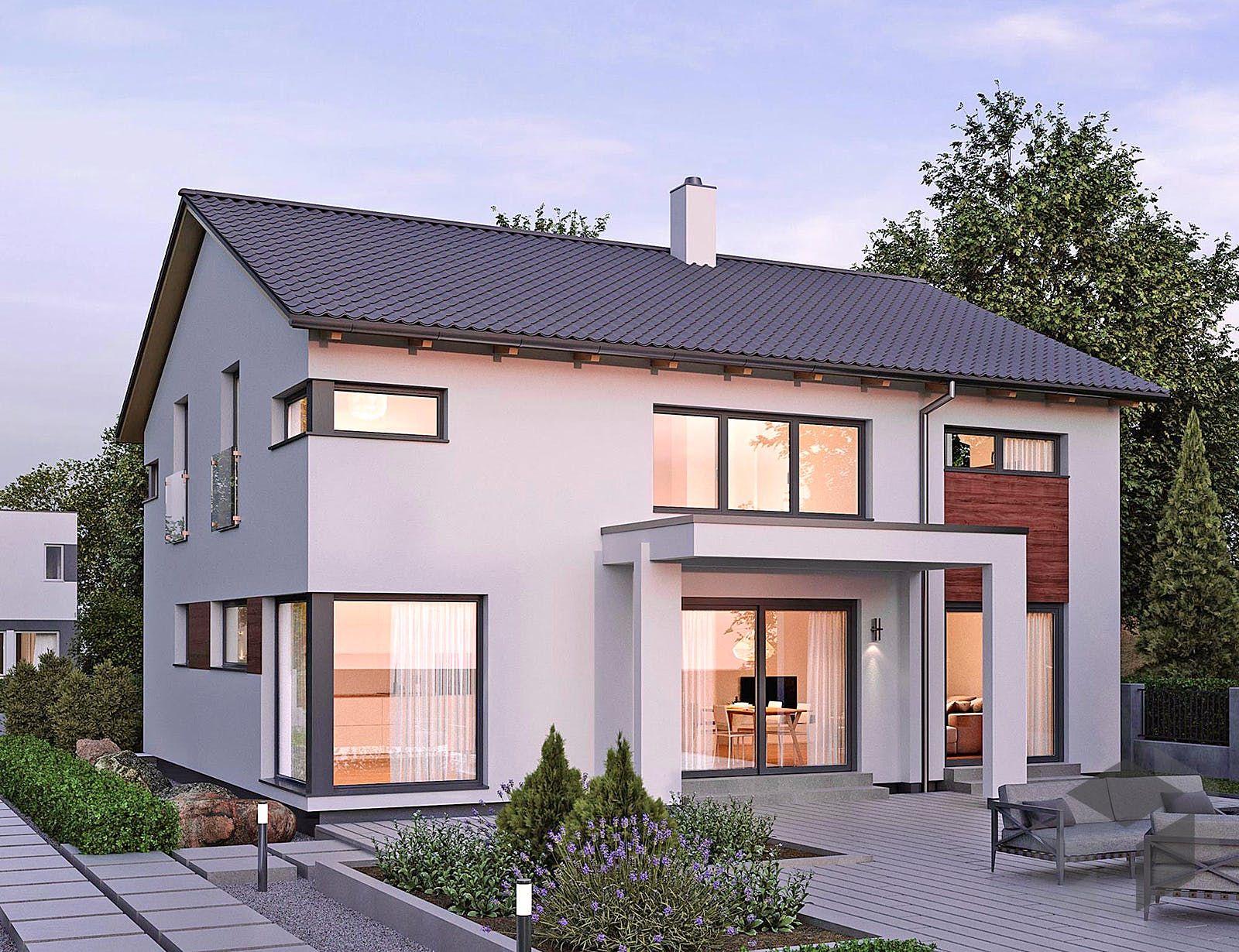 ELK HAUS 189 Satteldach 25° von ELK Fertighaus ➤ Preise ...