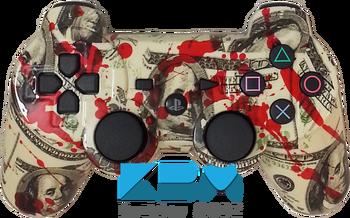 Blood Money DualShock 3 PS3 Controller - KwikBoy Modz  #customcontroller #moddedcontroller #ps3 #ps3controller #customps3controller #bloodmoney