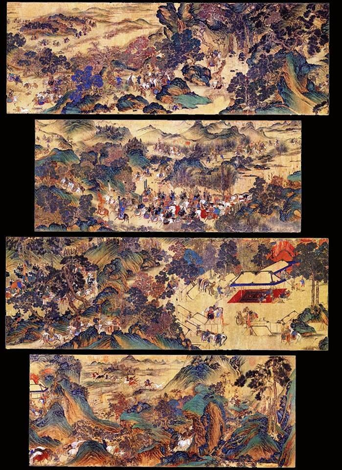 Mongolian Empire(1206-1368) painting