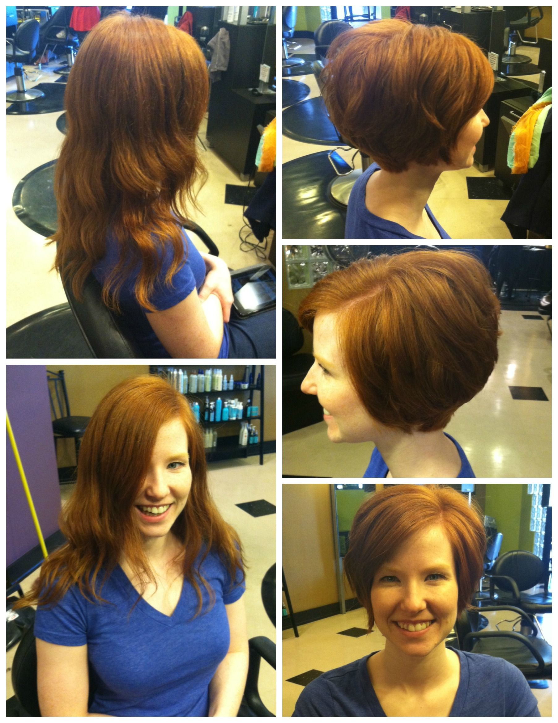Long To Voluminous Pixie By Jamie At Avantgarde Salon Spa In Grand