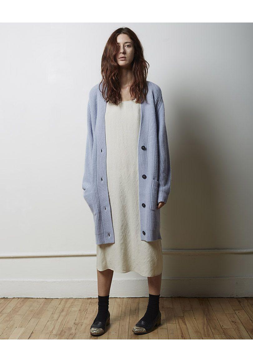 가디건 + 드레스