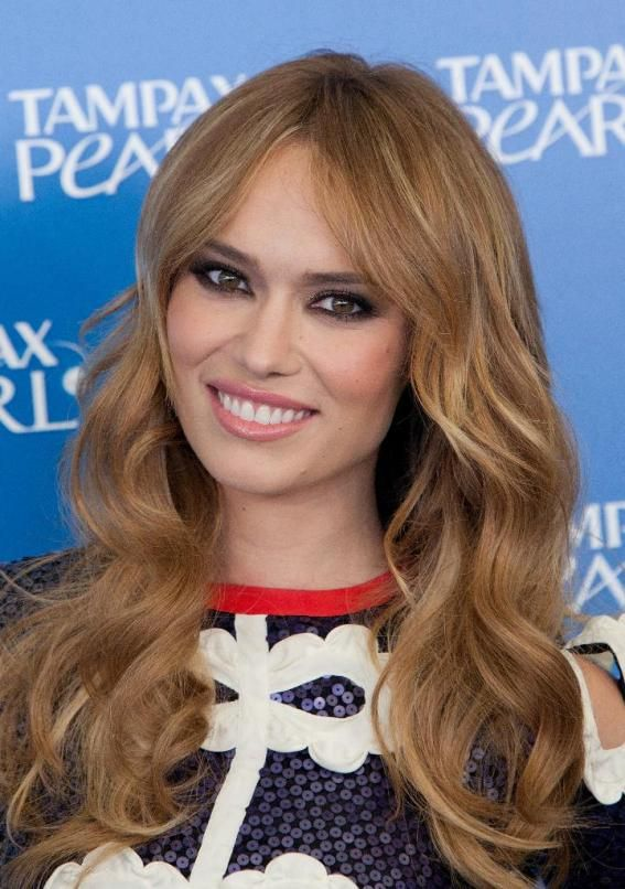 La Moda En Tu Cabello Flequillo Abierto Peinados 2015 Hair