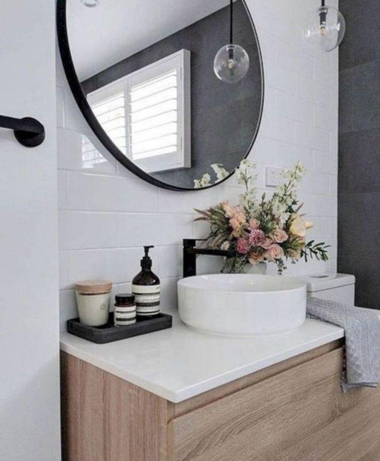 40 Beautiful Bathroom Sink Decorating Ideas Bathroom Sink Decor Bathroom Sink Bathroom Decor