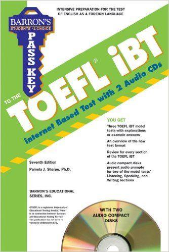 Barron's Pass Key To The TOEFL iBT 7th Ed Pdf +Audio