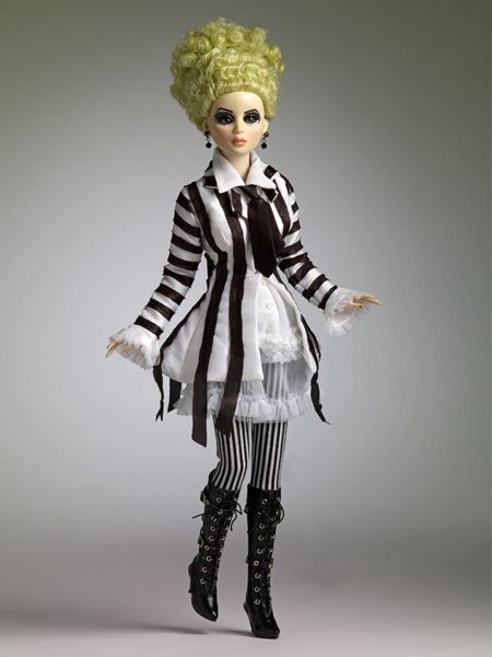 The Barbie Ms Beetlejuice Via Tonner Doll Company Beetlejuice Dress Beetlejuice Beetlejuice Costume