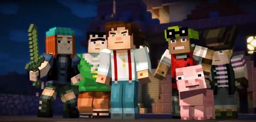 Minecraft Story Mode Minecraft Story Mode Pinterest - Minecraft hauser video