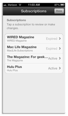 How to manage your iTunes subscriptions | Tech