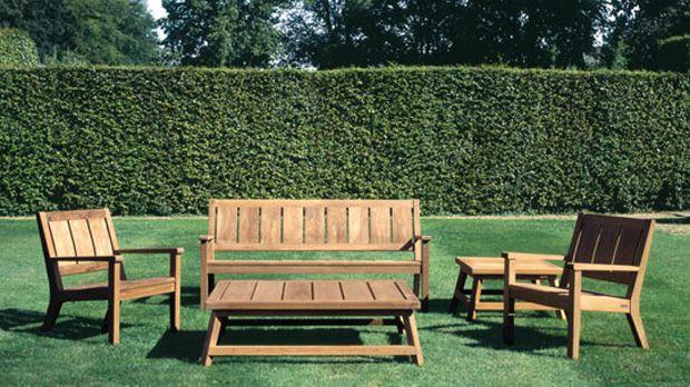 Muebles en madera para jardines para m s informaci n for Muebles de jardin de madera