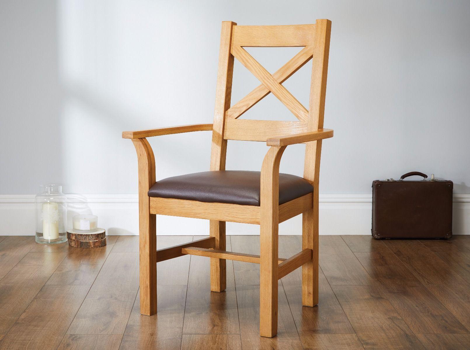 Medium Eiche Esszimmer Stühle, Eiche Massiv Stühle Zum