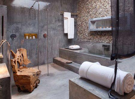 Natuurlijke badkamer   Badkamer   Pinterest   Toilet