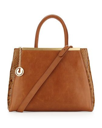 Gorgeous Charles Jourdan Designer Handbag, just went on sale for $299.99 - Compare at $425.00  http://www.heyybeautiful.com/collections/frontpage/products/charles-jourdan-gage-tote-bag