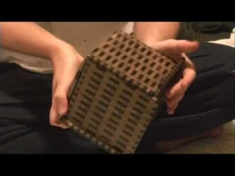324 move Japanese Puxxle Box.  Yosegi Muku. #design #gadgets #fathersday