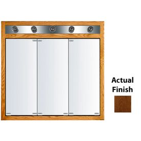 Lowes Medicine Cabinets With Lights Amusing Kraftmaid Traditional 35In X 33In Square Surfacerecessed Mirrored Review
