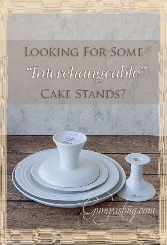 Sophie Conran Ceramic Pieces for Cake Stands