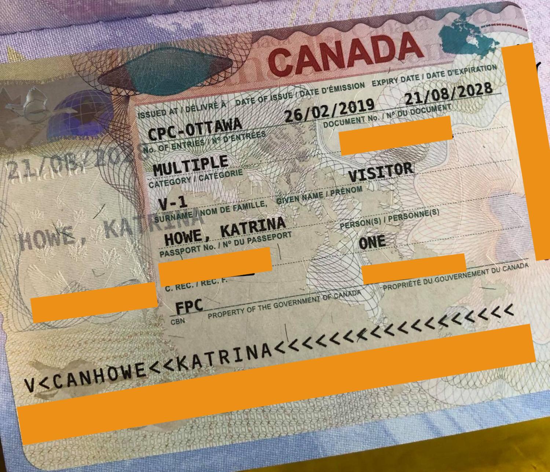 How To Get 10 Year Canada Visa Canada Tourist Visa Online Passport Online