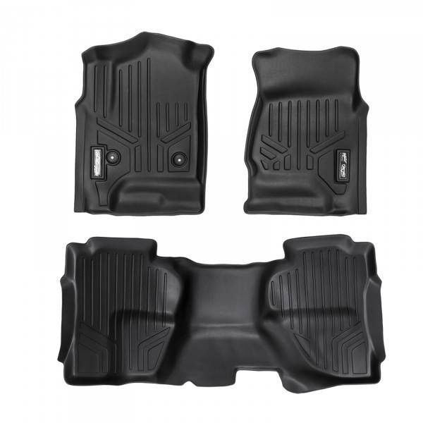 Maxliner Custom Fit 3d Rubber Floor Mats For Silverado Sierra