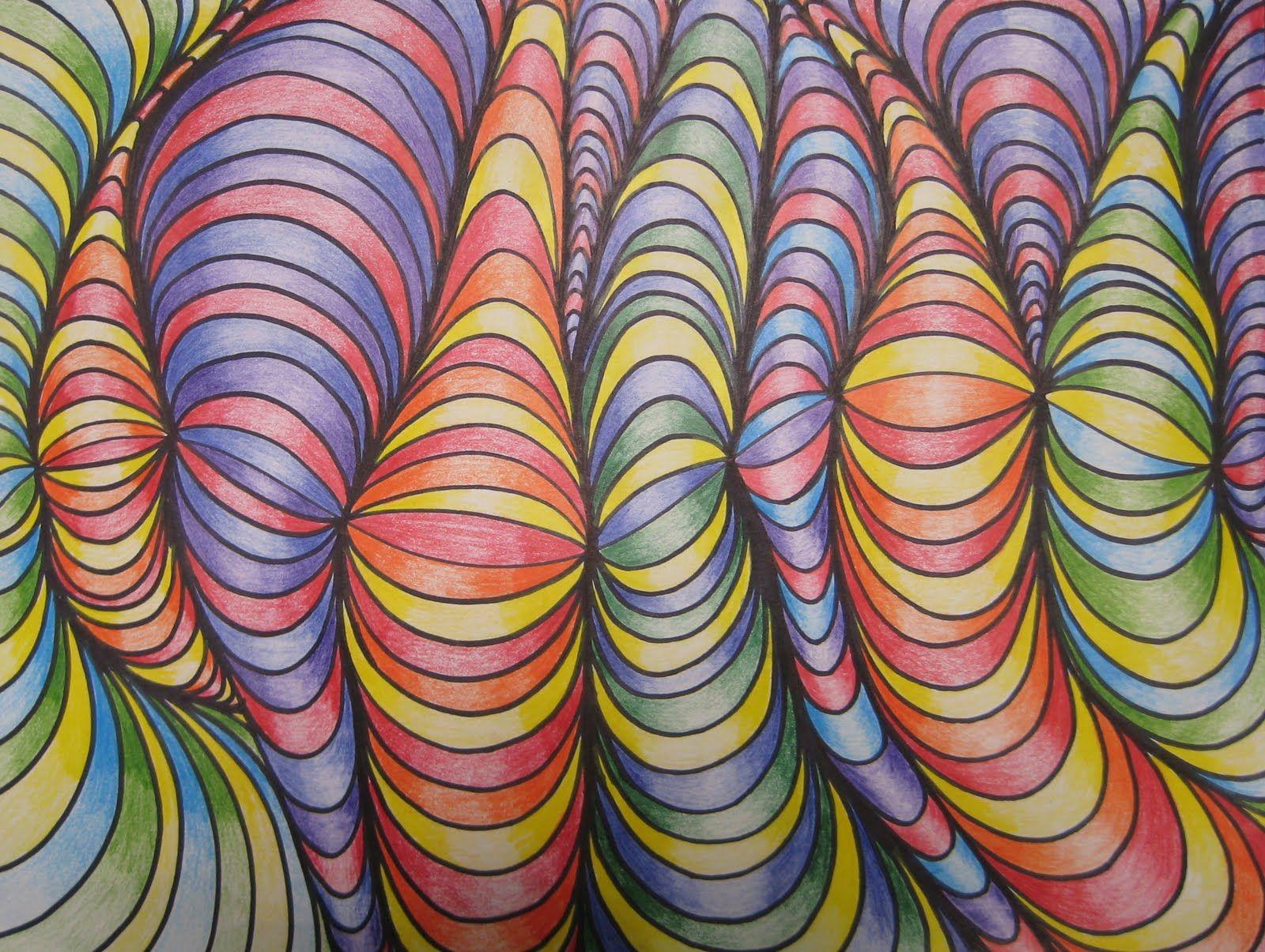 5th Grade Op Art Projects