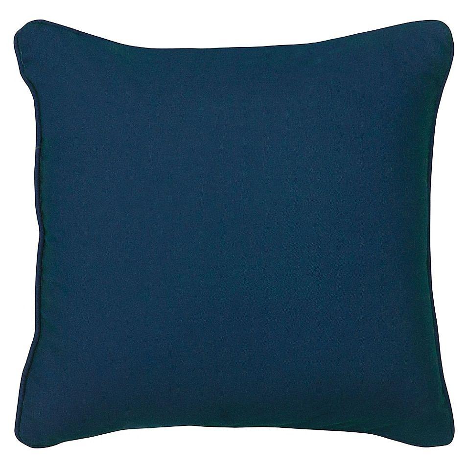 Boho Living Venus Square Throw Pillow In Indigo