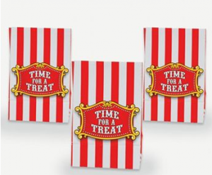 Carnival Mini Treat Bags with Tape Closures | 12ct - $2.15