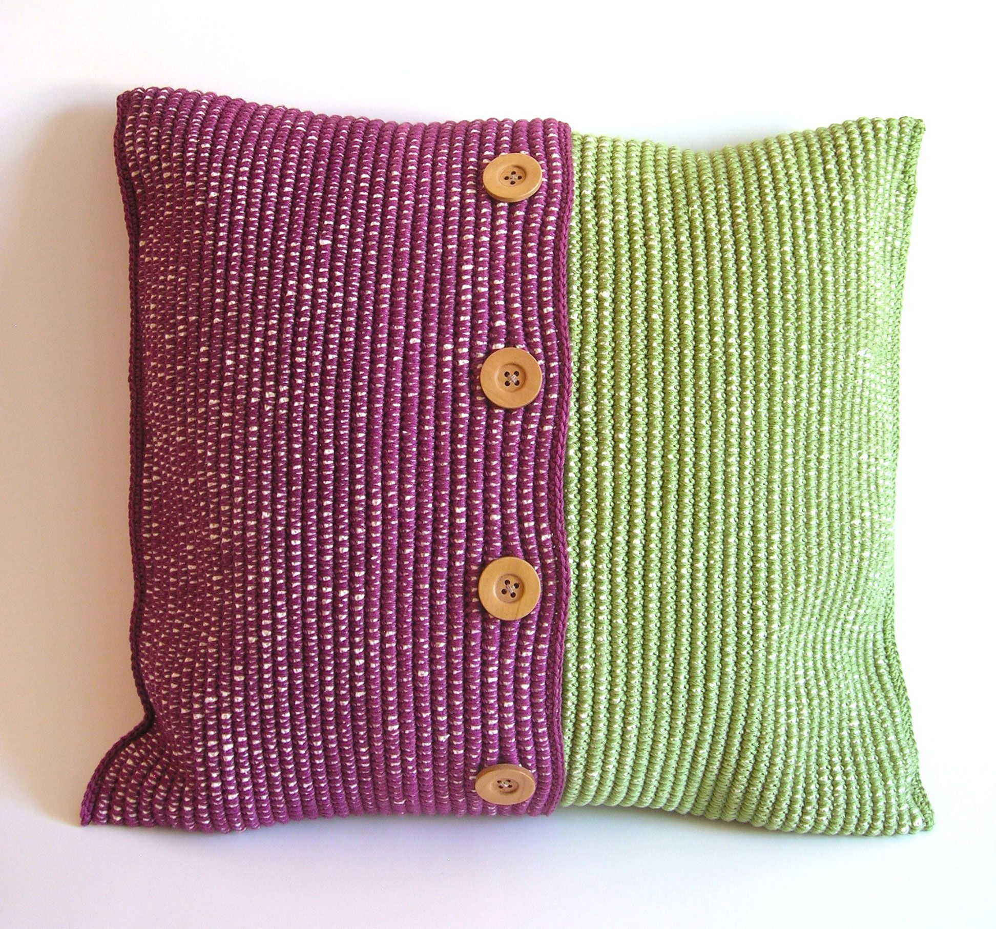 Crochet Cushion Cases, Free Pdf , Photo Tutorial, Written Instructions