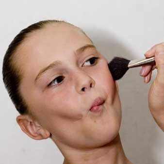 A Tutorial for Young Dancers to Help Learn How to Apply Stage Makeup #dancemakeup