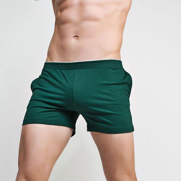 Dernier SUPERBODY Caleçon Décontracté à Corps Formé Boxer Sommeil  Antibactérien avec Poches Sous-vêtements Doux pour Homme - NewChic 43ecfd0ee36