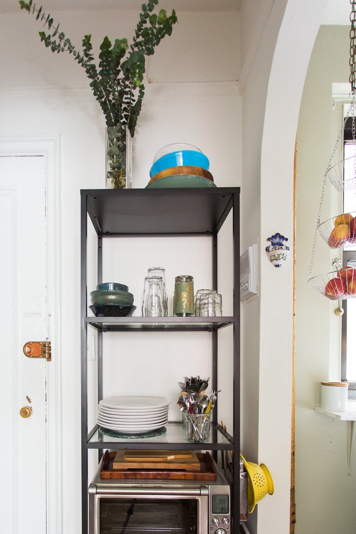 10 Ways To Create Storage In A Small Rental Kitchen Organizing Tips From Kitchn