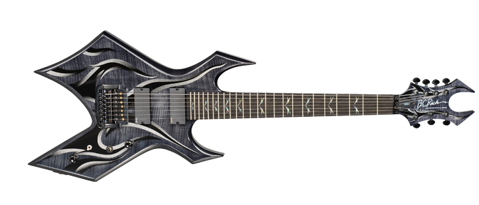 B C Rich Signature Warlock Guitar With Kahler Bridge And Emgs Guitar Music Instruments Electric Guitar